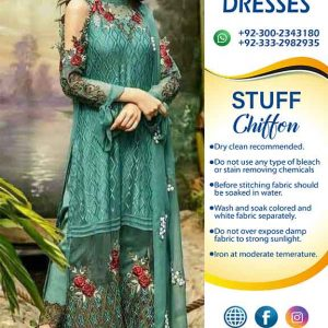 JAZMIN LATEST CHIFFON DRESSES
