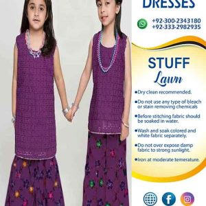MARIA B LAWN DRESSES FOR KIDS