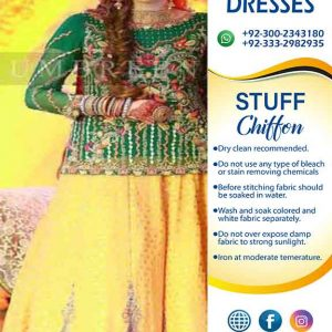 Umbreen Ibrahim lehenga suit collection 2019