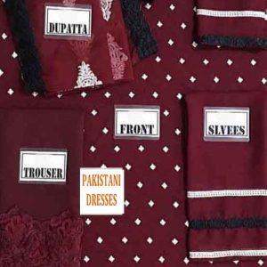 Pakistani chiffon Dresses online