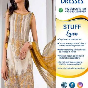 Baroque Eid Summer Dresses 2019