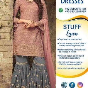 Pakistani Eid Lawn Dresses 2019