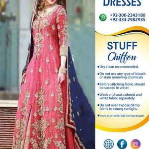 Aliza Waqar bridal Frock online