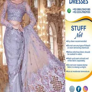 Maria B Bridal Saree Collection 2019