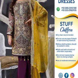 Maryam N Maria Chiffon Dresses Online
