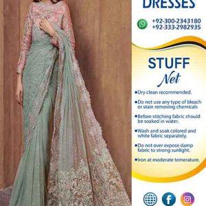 Maria B Bridal Saree Online Collection