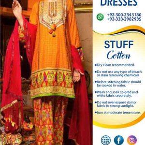 Zahra Ahmed Cotton Dresses 2020