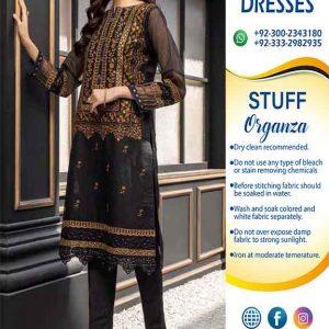 Pakistani Organza Dresses 2021